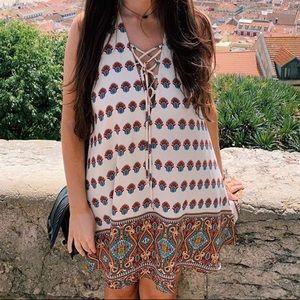 Show me your mumu Ranchero Mirage dress